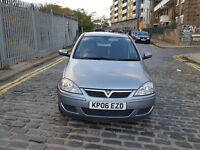 2006 Vauxhall Corsa 1.2 Silver 5dr Hatchback Manual Petrol MOT May2017 full service history 2owner