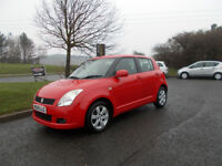 SUZUKI SWIFT 1.5 GLX HATCHBACK RED NEW SHAPE 2009 ONLY 69K MILES BARGAIN £2150 *LOOK* PX/DELIVERY