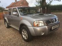 Nissan Navara 2004/54 New MOT, Full History,Tow bar etc