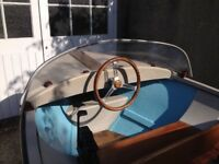 12ft TOD Fibreglass boat and trailer with 40hp Mercury outboard