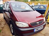 ★🚗★ 2003 VAUXHALL ZAFIRA 1.6 PETROL ★ 7 SEATER ★ MOT FEB 2017 ★ IDEAL FAMILY CAR ★ KWIKI AUTOS ★