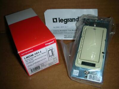 Legrand Lmdm-101-i Dlm Digital Rj45 Dimming Wall Switch Winfrared Ivory 24v New