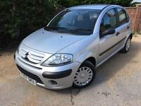 2007 57 CITREON C3 COOL 1.4 HDI SILVER (78,000 MILES) 30 POUNDS TAX! VERY CLEAN! CARDS WELCOME.