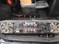 Dj amp dj disco karaoke amplifier 600wat