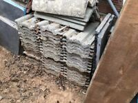 ROOF ROOFING TILES OVER 100 AVAILABLE FREE TO COLLECTOR