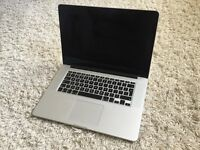 "Apple Macbook Pro Mid 2014 15"" Quad Core i7 2.2GHz with apple care"