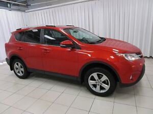2015 Toyota RAV4 WOW!!! HOT LAVA XLE AWD TRIM PACKAGE RAV 4!!! F