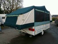 Conway crusader trailer tent
