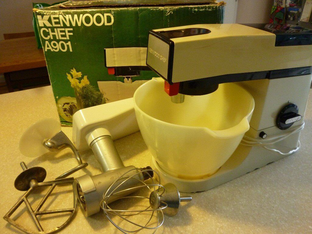 Kenwood chef a901 with mincer attachment original recipe book kenwood chef a901 with mincer attachment original recipe book forumfinder Images