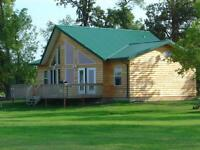 Winter pricing for lakefront cottage lots on Lake Manitoba