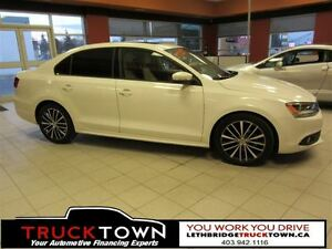2013 Volkswagen Jetta SPORTLINE WITH LEATHER