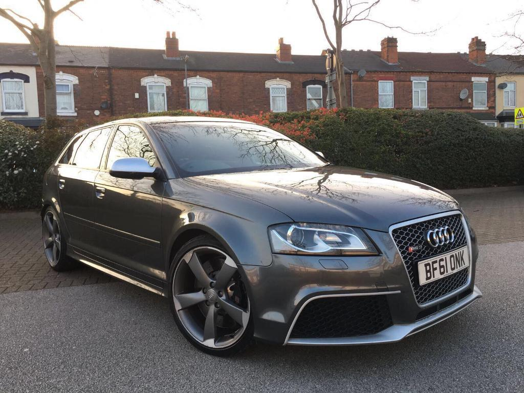 2012 audi rs3 quattro auto grey may px in perry barr. Black Bedroom Furniture Sets. Home Design Ideas