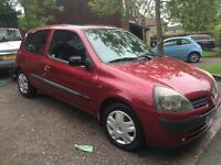 Renault Clio 1.2 Expression FSH 2001