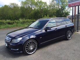 2012 Mercedes C Class C220 CDI BLUEEFFICIENCY Estate