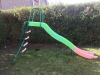 Large sturdy kids garden slide