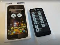 Sunny Switel S52D dual sim Android phone, Unlocked & brand new in box