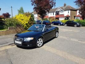 Audi A4 S Line Tdi 140 convertible full leather