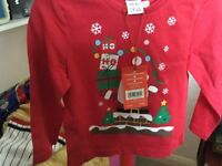 Christmas tops brand new and tagged