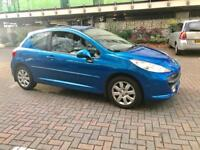 2008 Peugeot 207 m play 1.4 petrol 5 speed manual 1 year mot