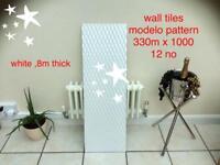 Wall tiles 330 x 1000 , 12 no