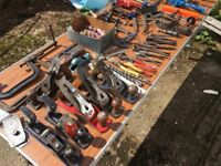 tools wanted carpentry , joiners, garden tools, hand tools, ect