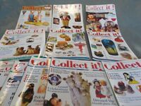 Free.... 60 Copies of 'COLLECT IT' magazines from the early 2000's FREE.