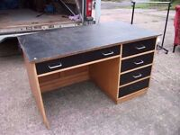 Home Office Desk Painted top Delivery Available