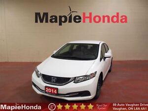 2014 Honda Civic LX| Remote Starter, Spoiler, 7year/160K Warrant