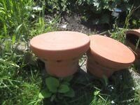 Chimney Pot Cowls - Ventilated x 6