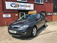 2009 FORD FOCUS ZETEC 100 1.6 PETROL*BLUETOOTH*12 MONTHS AA BREAKDOWN COVER*PART SERVICE HISTORY*