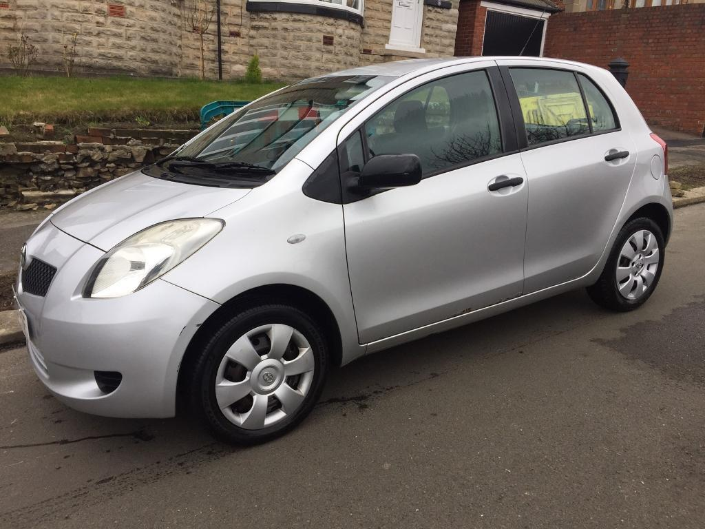toyota yaris 2007 5 doors silver 11mnths mot in sheffield south yorkshire gumtree. Black Bedroom Furniture Sets. Home Design Ideas