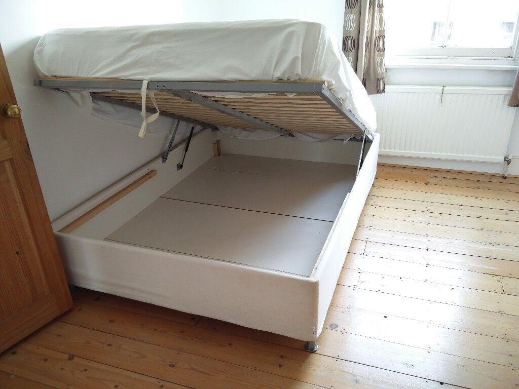 Fantastic Ikea Sultan Alsarp Double Storage Bed In Camden Town London Gumtree Creativecarmelina Interior Chair Design Creativecarmelinacom