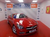 Mercedes SLK SLK250 CDI BLUEEFFICIENCY AMG SPORT(FREE MOT'S AS LONG AS YOU OWN THE CAR!! (red) 2012