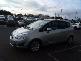 2010 10 VAUXHALL MERIVA 1.4 SE 5d 119 BHP **** GUARANTEED FINANCE **** PART EX WELCOME