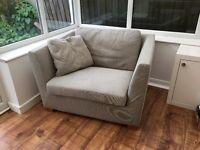 Ikea Stockholm 1.5 seat Armchair / Loveseat
