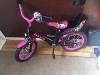 Girls bike
