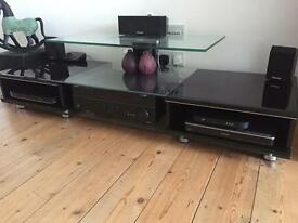 Television stand media cabinet