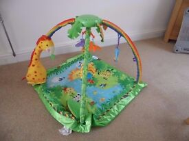 Fisher-Price rainforest baby gym - an excellent activity toy for babies. PRICE REDUCED