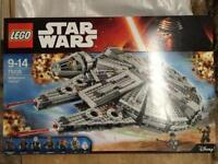 BNIB Starwars Millenium Falcon 75105