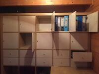 Ikea set of cabinets
