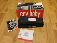 Jim Dunlop Cry Baby Wah Pedal As New & Boxed