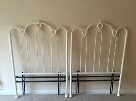 Metal Decorative Headboards for Single Divan Beds