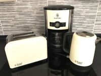 Russell Hobbs Kettle- Toaster and coffee maker