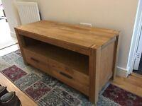 Cargo TV Stand - Oak