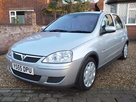 2006 Vauxhall Corsa 1.2 Design, 1 Lady Owner From New, Digital Climate Control