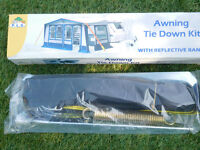 awning tie down kit new