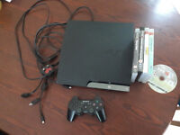 250GB PlayStation 3 (PS3) with 9 games