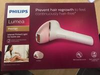 Philips lumea br1950 prestige IPL hair removal device for body and face