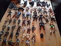 lots of action figures