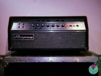 Ampeg SVT-VR all valve Bass Head with flight case